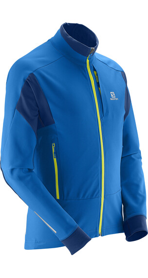 Salomon M's Momentum Softshell Jacket Midnight Blue